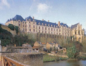 Schloss in Thouars